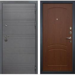 Входная дверь Лекс Сенатор 3К Софт графит / Береза мореная (панель №11)