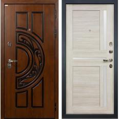 Входная дверь Лекс Спартак Cisa Баджио Ясень кремовый (панель №49)