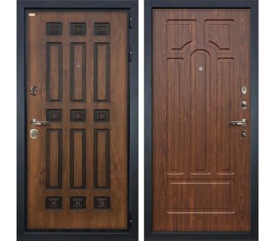 Входная металлическая дверь Лекс Гладиатор 3К Винорит Береза мореная (панель №26)