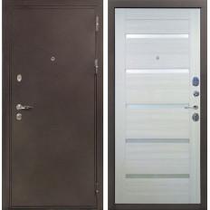 Входная дверь Лекс 5А Цезарь Клеопатра-2 Дуб беленый (панель №58)