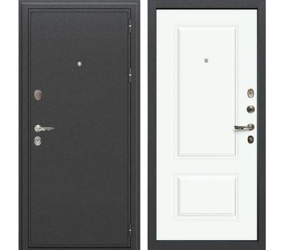 Входная стальная дверь Лекс Колизей Вероника-1 Эмаль Белая (панель №55)