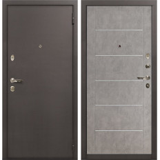 Входная дверь Лекс 1А Бетон серый (панель №80)