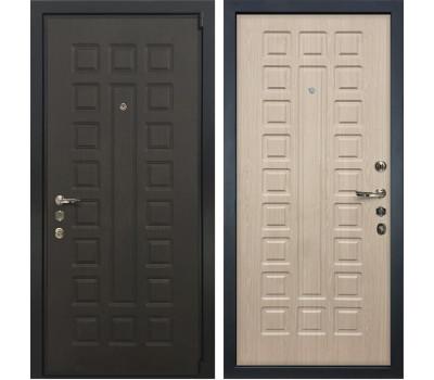 Входная стальная дверь Лекс 4А Неаполь Mottura Дуб беленый (панель №20)