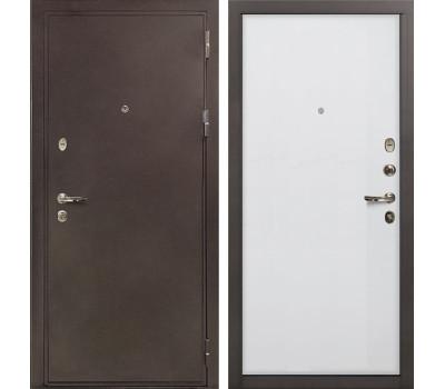 Входная стальная дверь Лекс 5А Цезарь Ясень белый (панель №62)