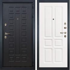 Входная дверь Лекс Гладиатор 3К Софт белый снег (панель №87)