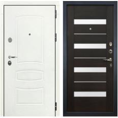 Входная дверь Лекс Легион 3К Шагрень белая / Сицилио Венге (панель №51)