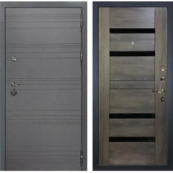 Входная дверь Лекс Сенатор 3К Софт графит / Неро Графит шале (панель №65)