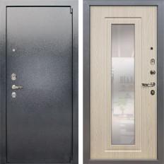 Входная дверь Лекс 3 Барк с Зеркалом Дуб беленый (панель №23)
