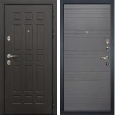Входная дверь Лекс Сенатор 8 Графит софт (панель №70)