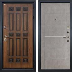 Входная дверь Лекс Гладиатор 3К Винорит Бетон серый (панель №80)