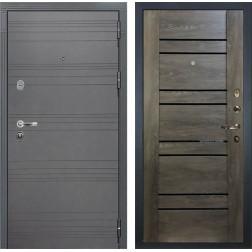 Входная дверь Лекс Легион 3К Софт графит / Терра Графит шале (панель №64)