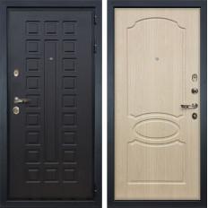 Входная дверь Лекс Гладиатор 3К Дуб беленый (панель №14)