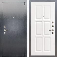 Входная дверь Лекс 3 Барк Софт белый снег (панель №85)