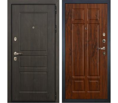 Входная стальная дверь Лекс Сенатор Винорит Винорит дуб тёмный (панель №90)