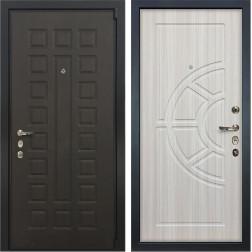 Входная стальная дверь Лекс 4А Неаполь Mottura Сандал белый (панель №44)