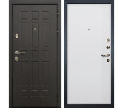 Входная металлическая дверь Лекс Сенатор 8 Ясень белый (панель №62)