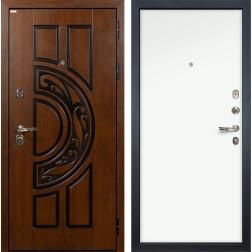 Входная стальная дверь Лекс Спартак Cisa Винорит Белый (панель №59)