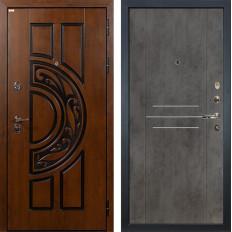 Входная дверь Лекс Спартак Cisa Бетон тёмный (панель №82)