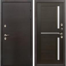 Входная дверь с терморазрывом Лекс Термо Сибирь 3К Баджио Венге (панель №50)