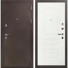 Входная дверь Лекс 5А Цезарь Белая шагрень (панель №68)