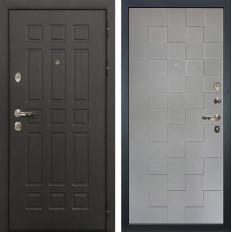 Входная дверь Лекс Сенатор 8 Графит софт Квадро (панель №72)