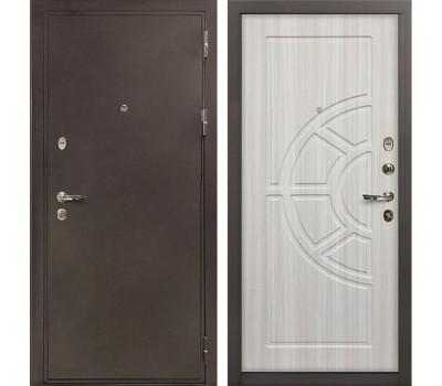 Входная стальная дверь Лекс 5А Цезарь Сандал белый (панель №44)