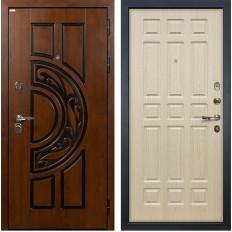 Входная дверь Лекс Спартак Cisa Дуб беленый (панель №28)