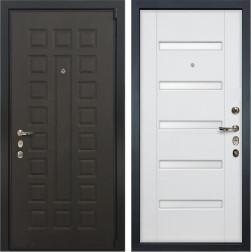 Входная дверь Лекс 4А Неаполь Mottura Ясень белый (панель №34)
