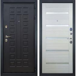 Входная дверь Лекс Гладиатор 3К Клеопатра-2 Дуб беленый (панель №58)
