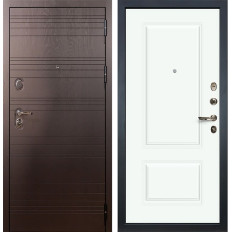 Входная дверь Лекс Легион Вероника-1 Эмаль Белая (панель №55)