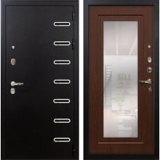 Входная дверь Лекс Витязь с Зеркалом Береза мореная (панель №30)