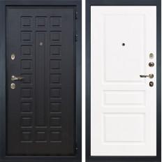 Входная дверь Лекс Гладиатор 3К Софт белый снег (панель №94)