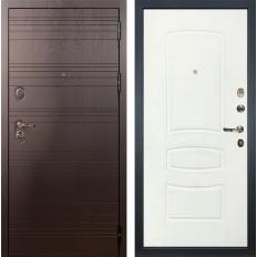 Входная дверь Лекс Легион Белая шагрень (панель №68)