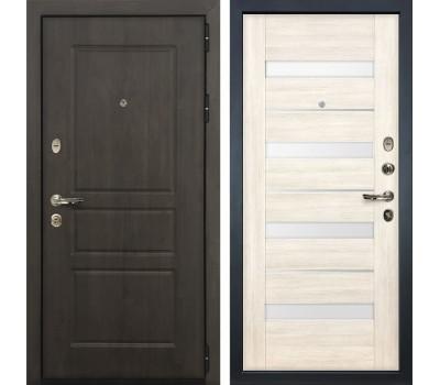 Входная стальная дверь Лекс Сенатор Винорит Сицилио Дуб беленый (панель №46)