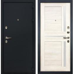 Входная стальная дверь Лекс 2 Рим Баджио Дуб беленый (панель №47)