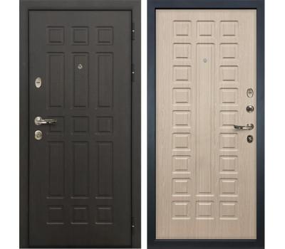Входная металлическая дверь Лекс Сенатор 8 Дуб беленый (панель №20)