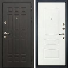 Входная дверь Лекс Сенатор 8 Белая шагрень (панель №68)