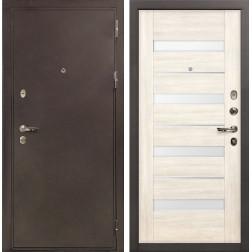 Входная дверь Лекс 5А Цезарь Сицилио Дуб беленый (панель №46)