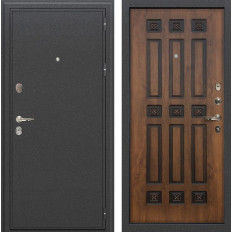 Входная дверь Лекс Колизей Винорит Голден патина черная (панель №33)