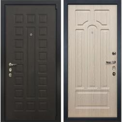 Входная дверь Лекс 4А Неаполь Mottura Дуб беленый (панель №25)