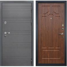 Входная дверь Лекс Легион 3К Софт графит / Береза мореная (панель №26)