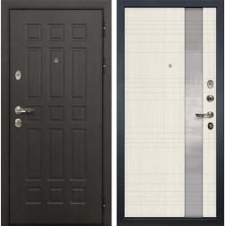Входная металлическая дверь Лекс Сенатор 8 Новита Дуб беленый (панель №52)