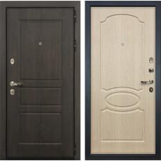 Входная дверь Лекс Сенатор Винорит Дуб беленый (панель №14)