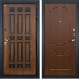 Входная металлическая дверь Лекс Гладиатор 3К Винорит Береза мореная (панель №12)