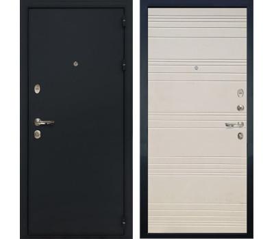 Входная стальная дверь Лекс 2 Рим Дуб фактурный кремовый (панель №63)