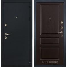 Входная дверь Лекс 2 Рим Ясень шоколад (панель №93)