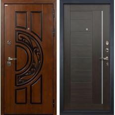 Входная дверь Лекс Спартак Cisa Верджиния Венге (панель №39)