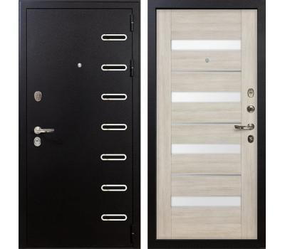 Входная металлическая дверь Лекс Витязь Сицилио Ясень кремовый (панель №48)