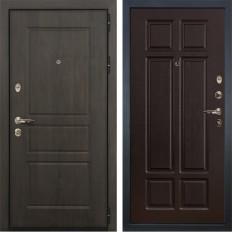 Входная дверь Лекс Сенатор Винорит Ясень шоколад (панель №88)