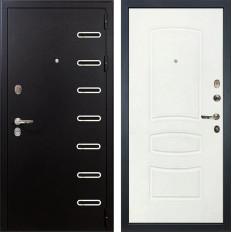 Входная дверь Лекс Витязь Белая шагрень (панель №68)